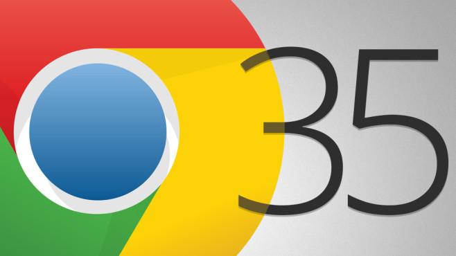 Google Chrome 35: Verbesserter Google-Browser im Praxis-Test ©Google, COMPUTER BILD