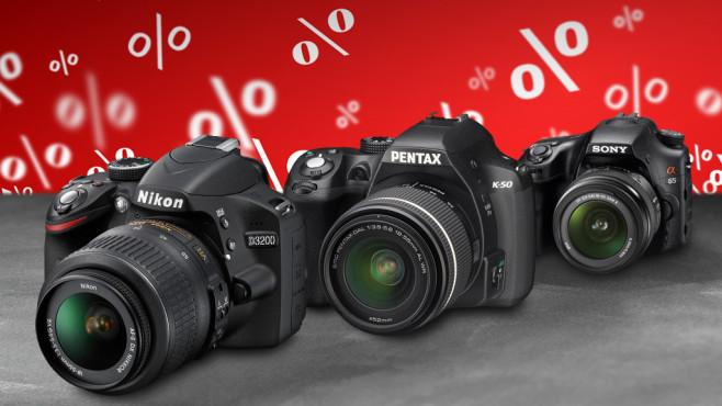 Spiegelreflexkameras f�r Einsteiger ©Nikon, Pentax. Sony, COMPUTER BILD