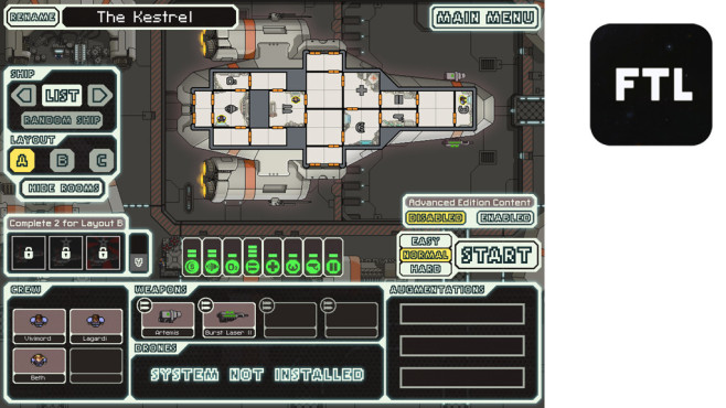 FTL – Faster Than Light ©Subset Games