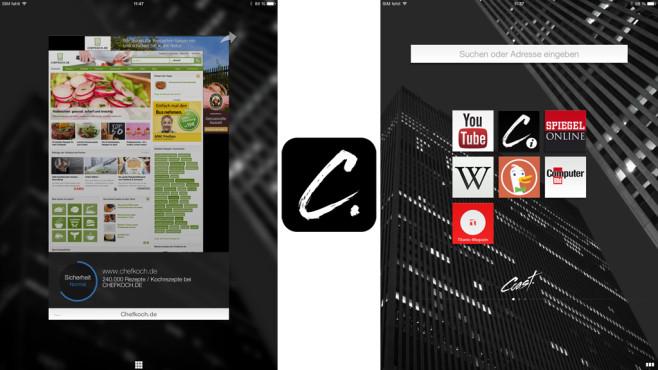 Opera Coast Webbrowser ©Opera Software ASA