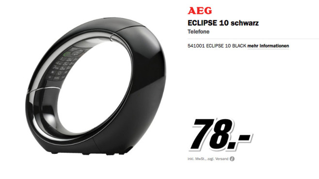 AEG Eclipse 10 © Media Markt