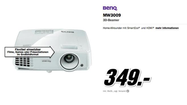 Benq MW3009 ©Media Markt