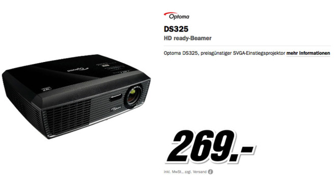 Optoma DS325 © Media Markt