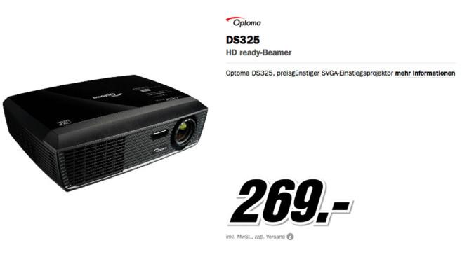Optoma DS325 ©Media Markt