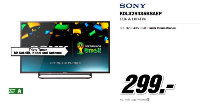 Sony KDL-32R435B ©Media Markt