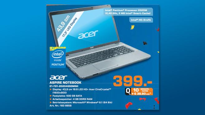 ACER Aspire E1-731-20204G50Mnii ©Saturn