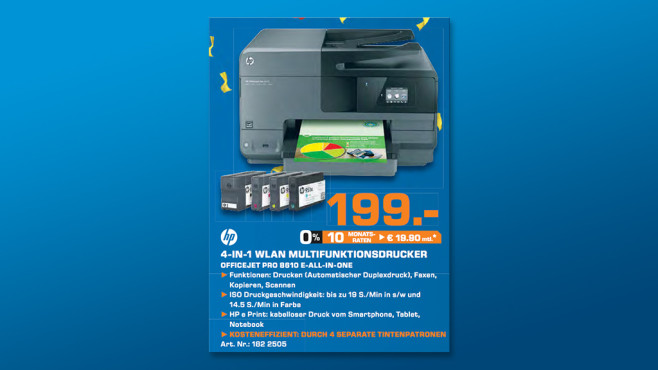 Hewlett-Packard HP Officejet Pro 8610 e-All-in-One © Saturn