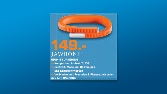 Jawbone Up24 © Saturn