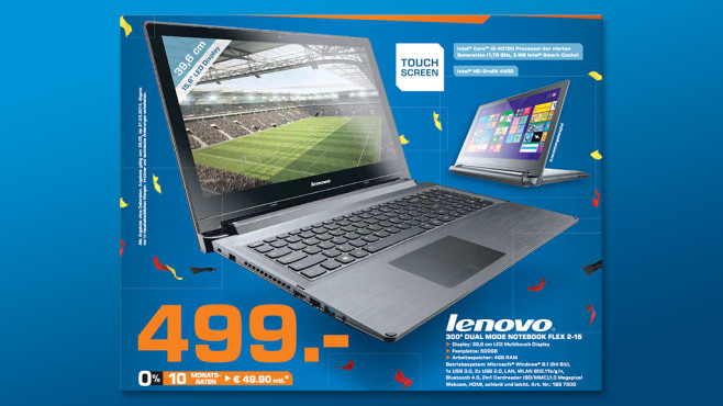 Lenovo IdeaPad Flex 15 © Saturn