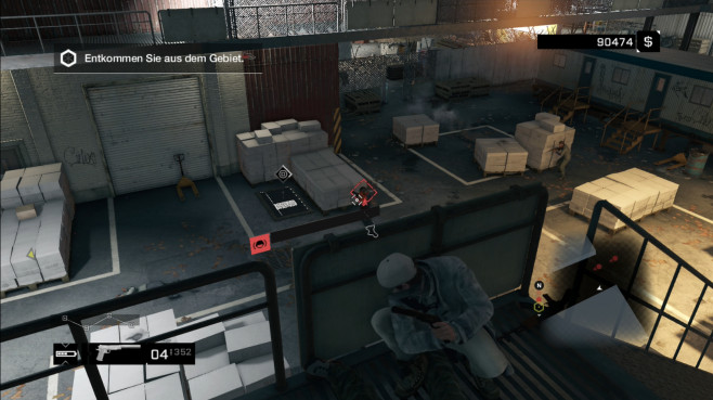 Actionspiel Watch Dogs: Lagerhaus © Ubisoft