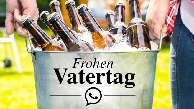 WhatsApp-Sprüche zum Vatertag ©karepa-Fotolia.com
