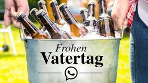 WhatsApp-Spr�che zum Vatertag ©karepa-Fotolia.com