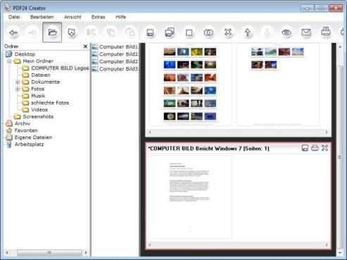 PDF24-Creator ©COMPUTER BILD