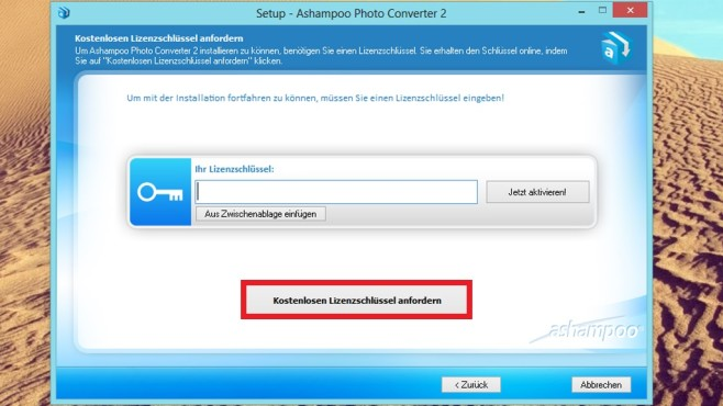 Ashampoo Photo Converter 2: So klappt die Installation © COMPUTER BILD