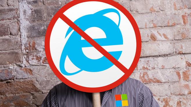 Microsoft stampft Internet Explorer ein ©Microsoft, papa – Fotolia.com