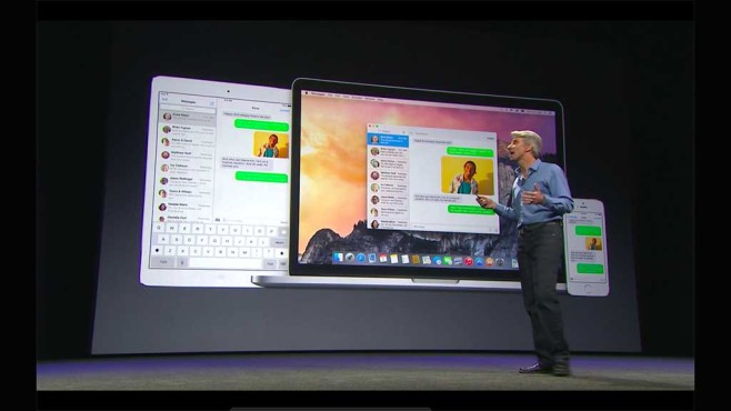 Screenshot OS X Yosemite © COMPUTER BILD
