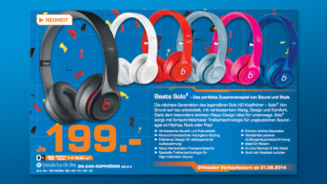 Beats By Dre Solo2 © Saturn