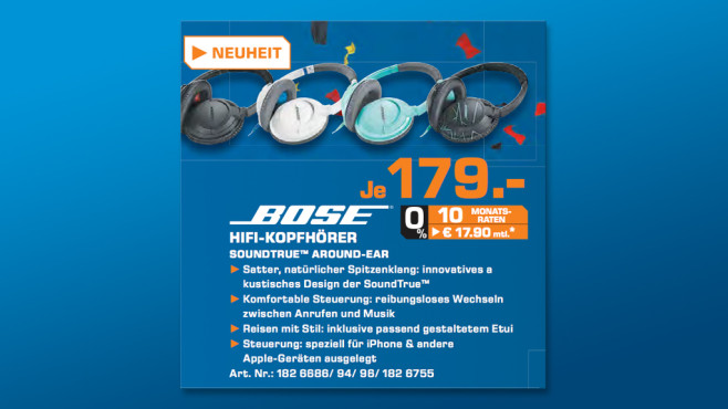 Bose SoundTrue Around-Ear © Saturn