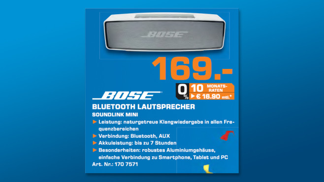 Bose Soundlink Mini © Saturn