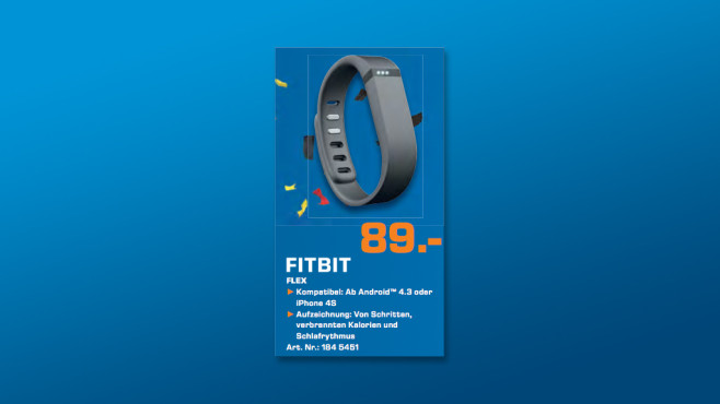 Fitbit Flex © Saturn