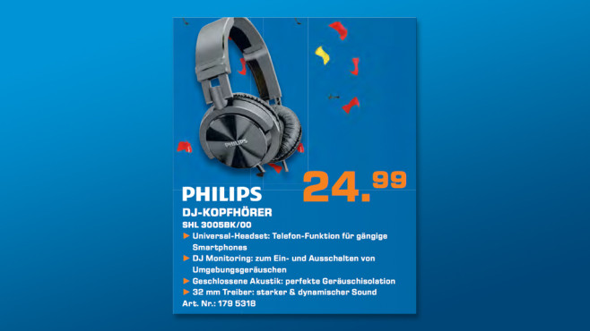 Philips SHL3005 © Saturn