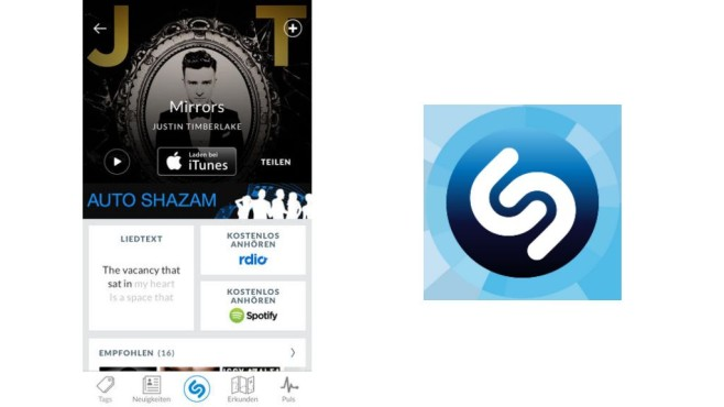 Shazam © Shazam Entertainment Ltd., COMPUTER BILD