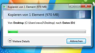 Bordmittel ade: 50 Gratis-Alternativen! Der Windows-Kopierdialog erscheint immer dann, wenn Dateien den Speicherort wechseln. Programme wie TeraCopy sind aussagekräftiger und bieten mehr Funktionen. ©COMPUTER BILD