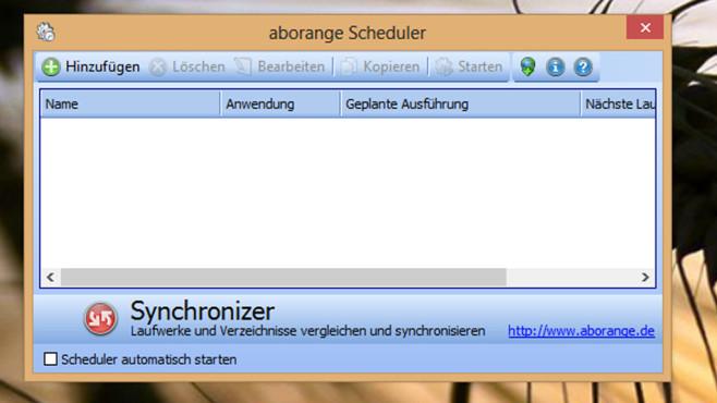 Alternative: Aborange Scheduler ©COMPUTER BILD