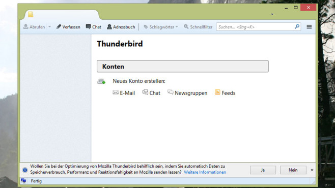 Alternative: Thunderbird © COMPUTER BILD