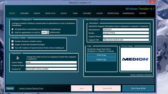 Alternativen: Windows Tweaker, O&O RegEditor ©COMPUTER BILD
