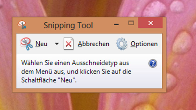 Snipping Tool © COMPUTER BILD