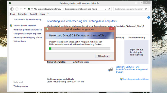 Windows-Benchmark © COMPUTER BILD