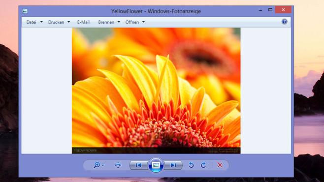 Windows-Fotoanzeige ©COMPUTER BILD