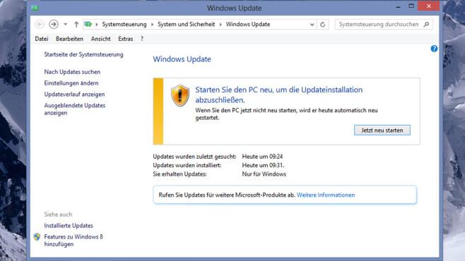 Windows Update ©COMPUTER BILD