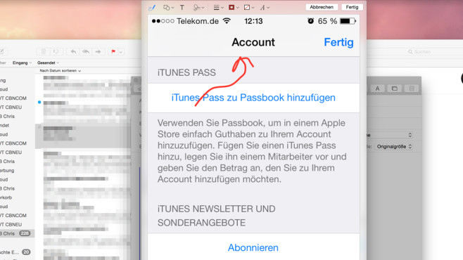 Mail: Markup © Apple, COMPUTER BILD