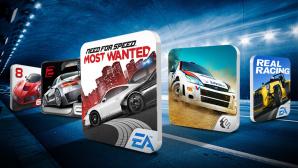 COMPUTER BILD testet Autorenn-Apps ©kalafoto - Fotolia.com, Asphalt 8, Colin McRae, Need for Speed, Real Racer 2