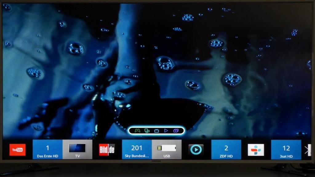 samsung ue48h6600 smart tv im test audio video foto bild. Black Bedroom Furniture Sets. Home Design Ideas