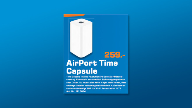 Apple AirPort Time Capsule 2TB ©Saturn