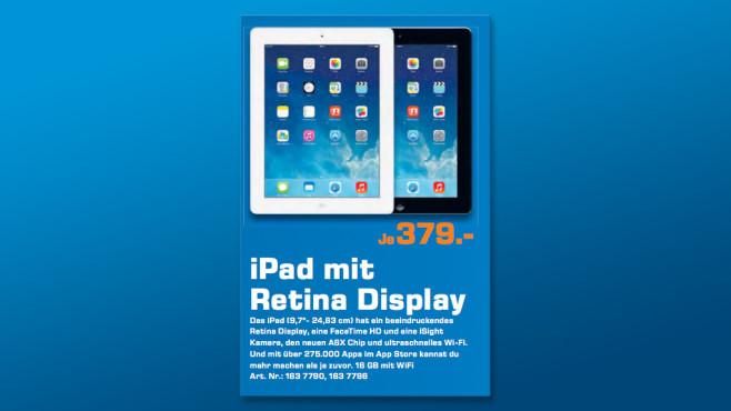 Apple iPad 4 16GB WiFi ©Saturn