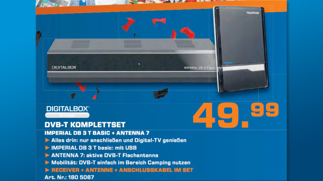 Digitalbox Imperial DB3 T basic ©Saturn