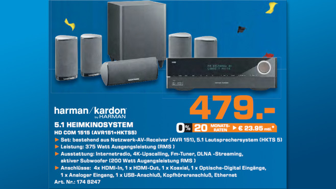 Harman Kardon HD COM 1515 ©Saturn
