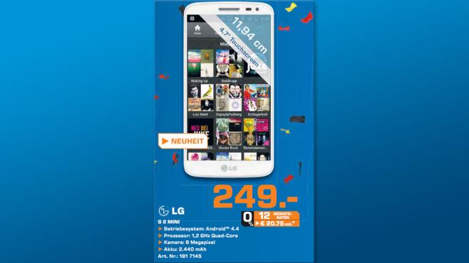 LG G2 mini ©Saturn