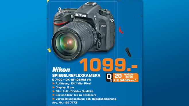 Nikon D7100 Kit 18-105 mm ©Saturn
