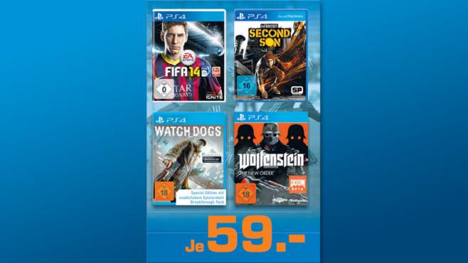 PS4-Spiele ©Saturn