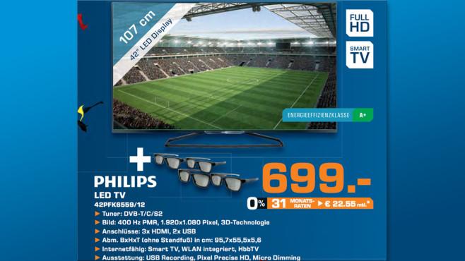 Philips 42PFK6559 ©Saturn