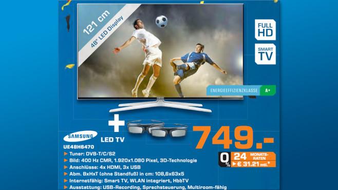 Samsung UE48H6470 ©Saturn