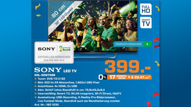Sony KDL-32W705B ©Saturn