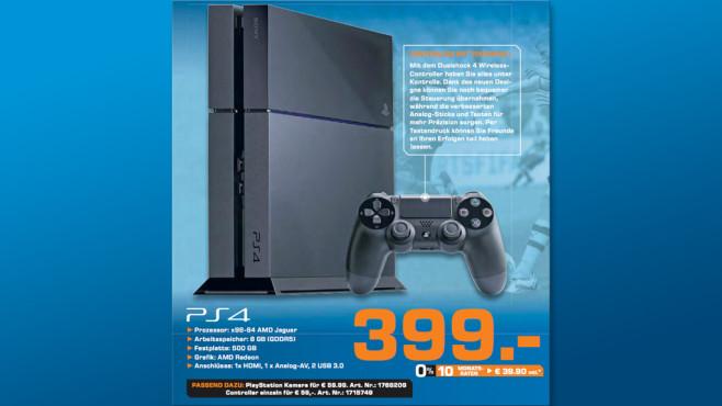 Sony PlayStation 4 ©Saturn