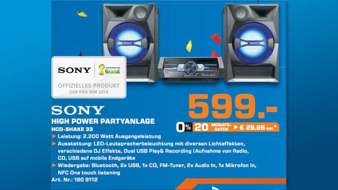 Sony SHAKE-33 ©Saturn