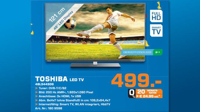 Toshiba 48L3443DG ©Saturn